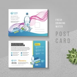 Fresh Drinking Water Postcard