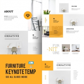 Furniture Keynote Template