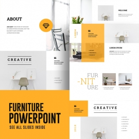 Furniture PowerPoint Presentation Template