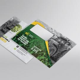 Garden Farm agriculture B5_Envelope
