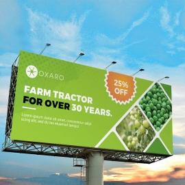 Garden Farm agriculture Billboard Sinage