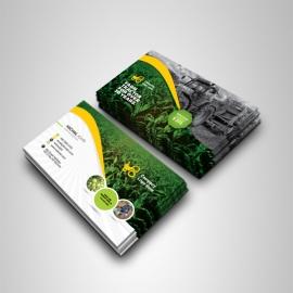 Garden Farm agriculture Business Card