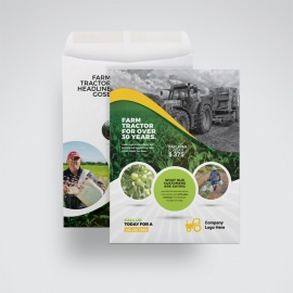 Garden Farm agriculture C4 Envelope Catalog
