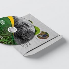Garden Farm agriculture CD-Sticker & Pack