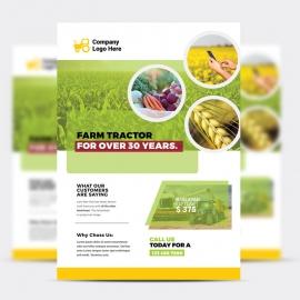 Garden Farm Agriculture Flyer