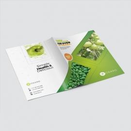 Garden Farm Agriculture Presentation Folder