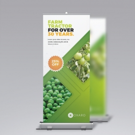 Garden Farm Agriculture Rollup Banner