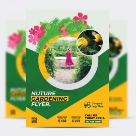 Gardening Flyer Template