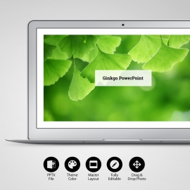 Ginkgo PowerPoint Template