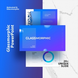 Glassmorphic PowerPoint