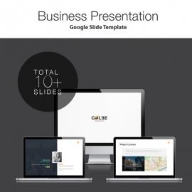 Globe Google Slide Presentation Template