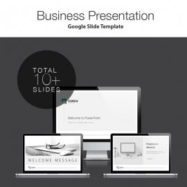 Going Up Google Slide Presentation Template