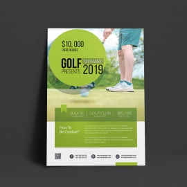 Golf Business Flyer Template