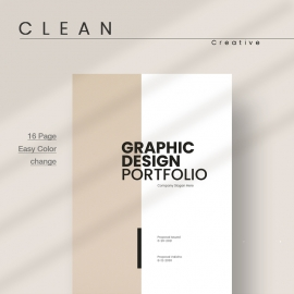 Graphic Design Portfolio Proposal Template
