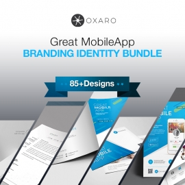 Great Mobile App Branding Identity Pack