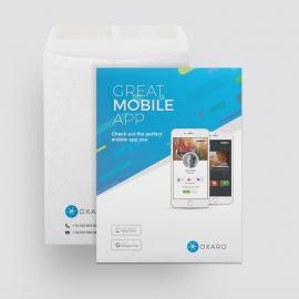Great MobileApp Catalog Envelope Template