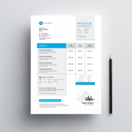Great MobileApp Invoice Template