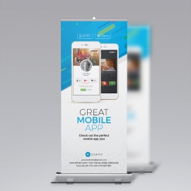 Great MobileApp Rollup Banner
