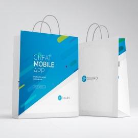 Great MobileApp Shopping Bag Template