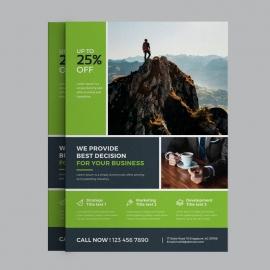 Green Business Flyer Design