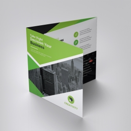 Green Business Square TriFold Brochure
