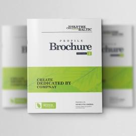 Green Company Bifold Brochure