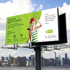 Green Company Billboard