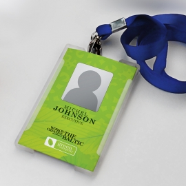 Green Company Office ID-Card