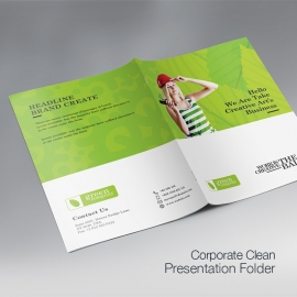 Green Company Presentation Folder