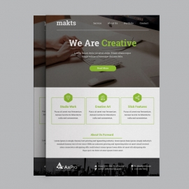 Green Corporate Business Flyer