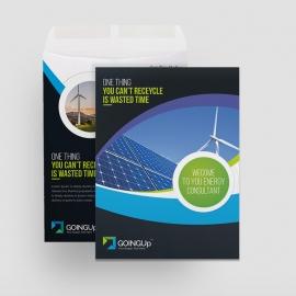 Green Energy Catalog Envelope