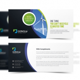 Green Energy Compliment Card