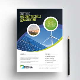 Green Energy Flyer Design