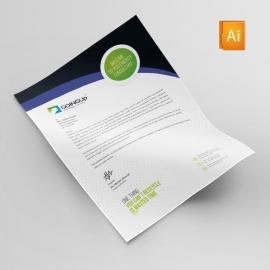 Green Energy Letterhead Design