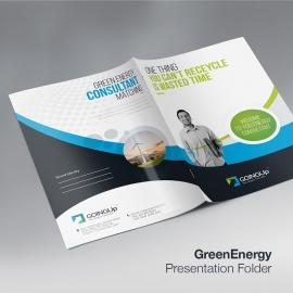 Green Energy Presentation Folder