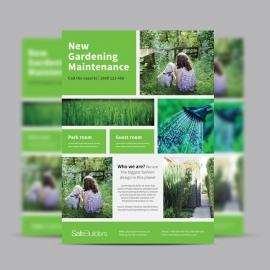 Green Garden Service Flyer