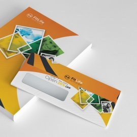 Gym & Fitness Commerial Envelope