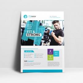 Gym & Fitness Flyer
