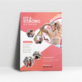 GYM & Fitness Flyer Template