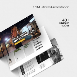 GYM Fitness Powerpoint Presentation