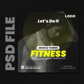 Gym Social Media Banner