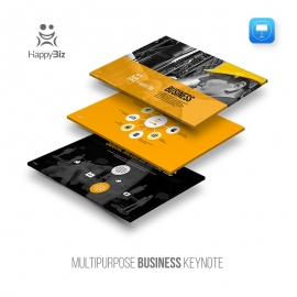 HappyBiz Multipurpose Business Keynote