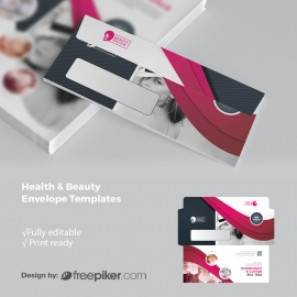 Health / Beauty DL Envelope Commercial With Dark