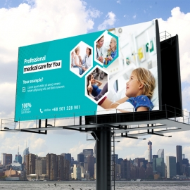 Health Care & Medical Billboard