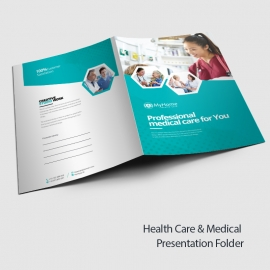 Health Care & Medical Presentation Folder