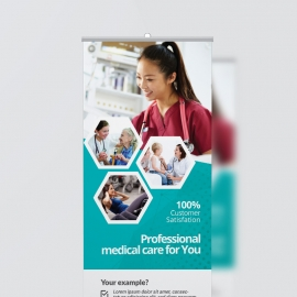 Health Care & Medical Roll-Up Banner