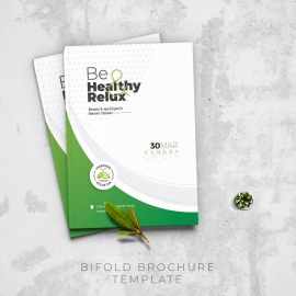 Health Relax & Spa Bifold Brochure