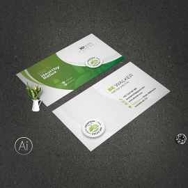 Health Relax & Spa Business Card