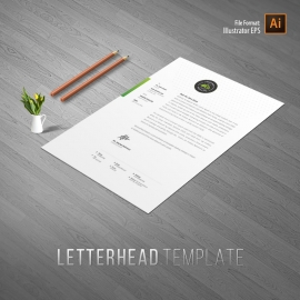 Health Relax & Spa Letterhead Template