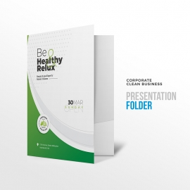 Health Relax & Spa Presentation Folder